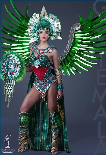 trajes tipicos miss universo 2017 guatemala