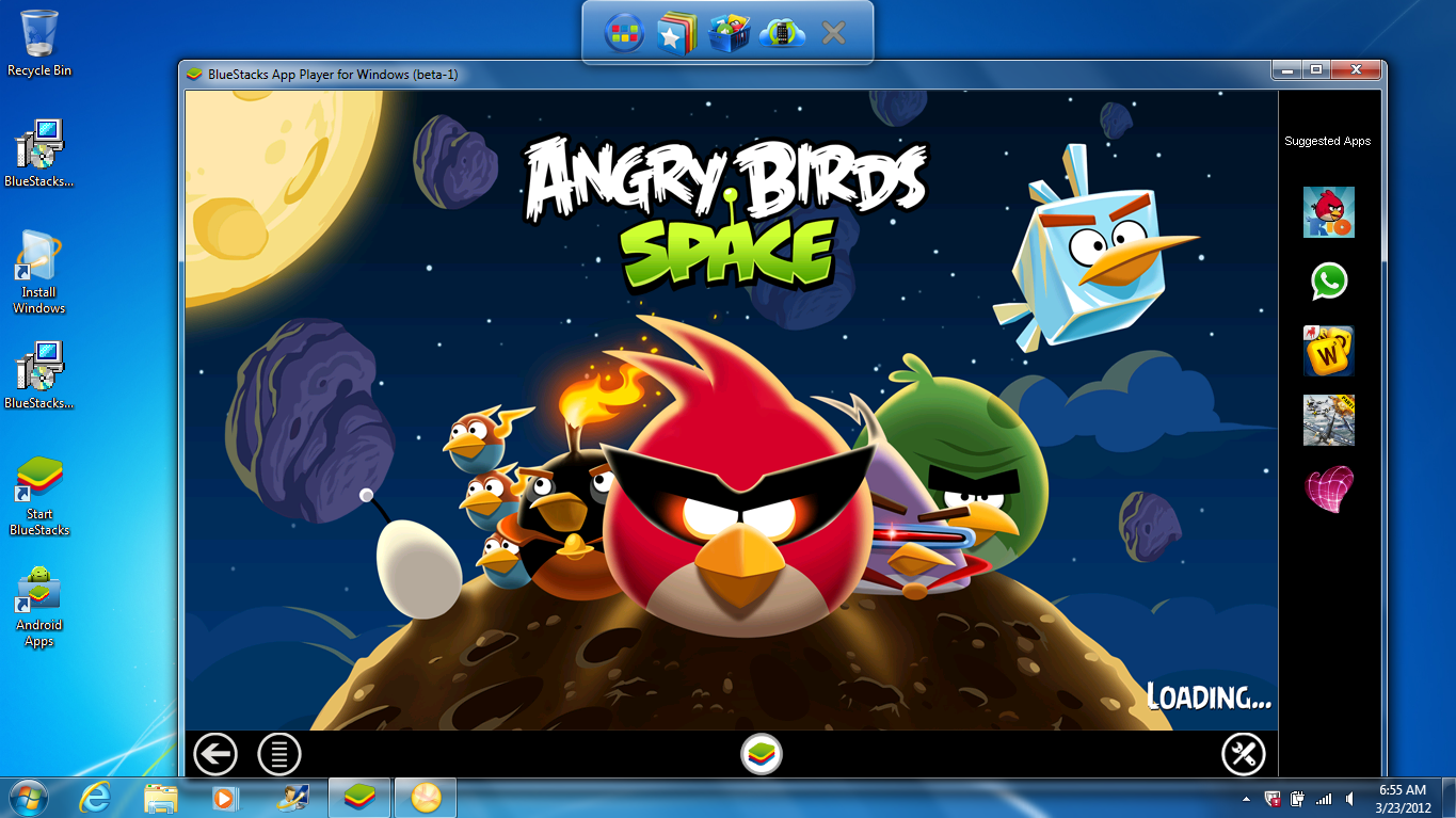 تحميل bluestacks عربي