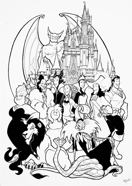 Walt disney coloring book pages ~ Walt Disney World Coloring Pages Free – Colorings.net