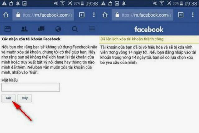 khóa facebook vĩnh viễn 3