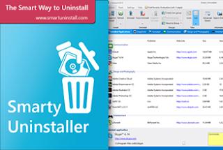 تحميل برنامج لإزالة البرامج من جذورها نهائيا  Smarty Uninstaller