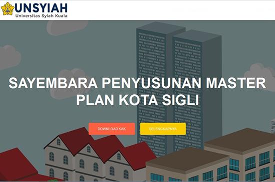 Sayembara Penyusunan Master Plan Kota Sigli 2016