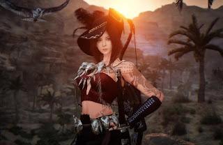 Karakter Game Cantik
