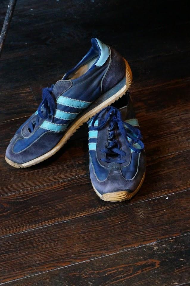 vintage Achille Adidas 1980s 80s