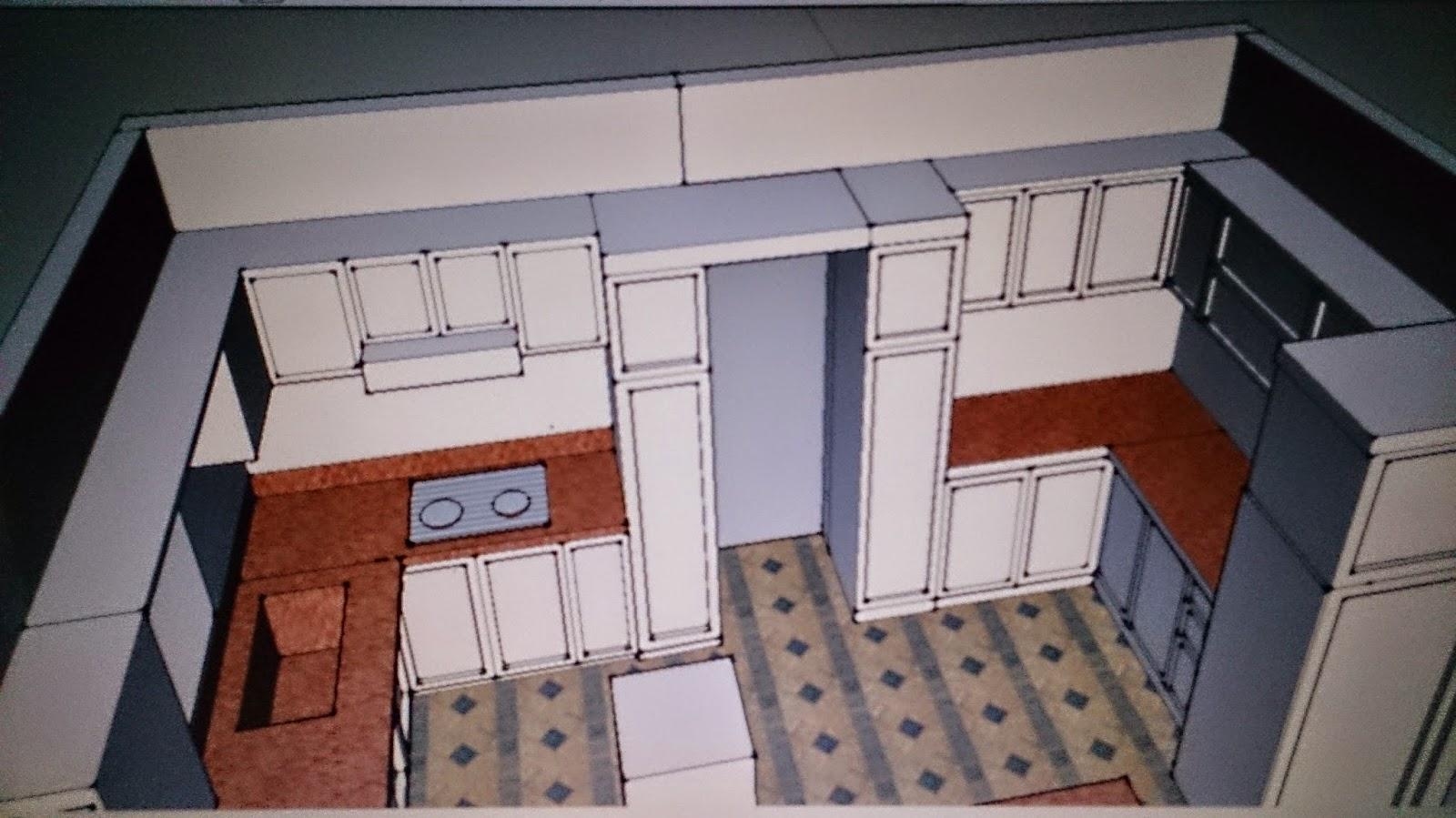 Rekabentuk Kabinet Dapur Basah