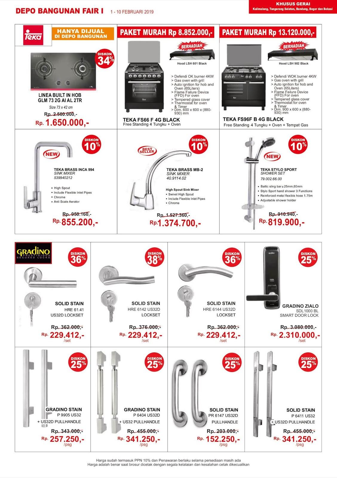 http://www.promosi247.com/2019/02/depoban#DepoBangunan - #Promo #Katalog Periode 01 - 10 Februari 2019gunan-promo-katalog-periode-01-10-02.html