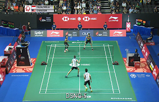 HSBC BWF Singapore Open Eutelsat 7A/7B Biss Key 12 April 2019