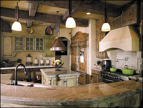 Decorating theme bedrooms maries manor wine for Tuscan style kitchen lighting