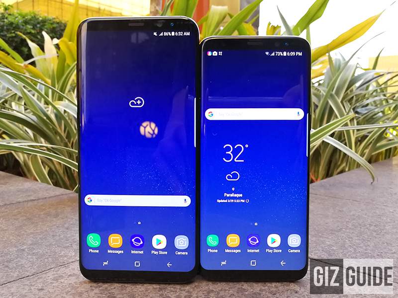 Smart Galaxy S8 and Galaxy S8+