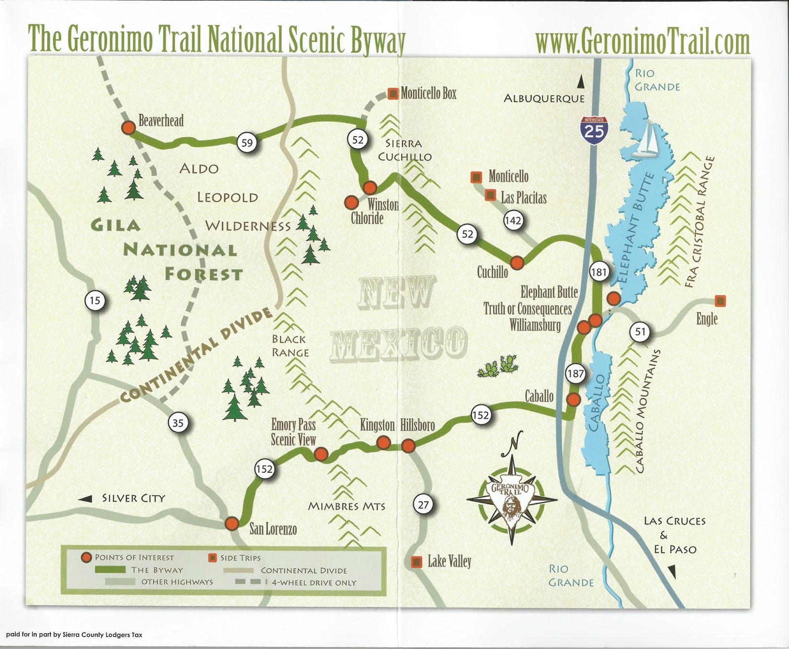 the geronimo trail national scenic byway