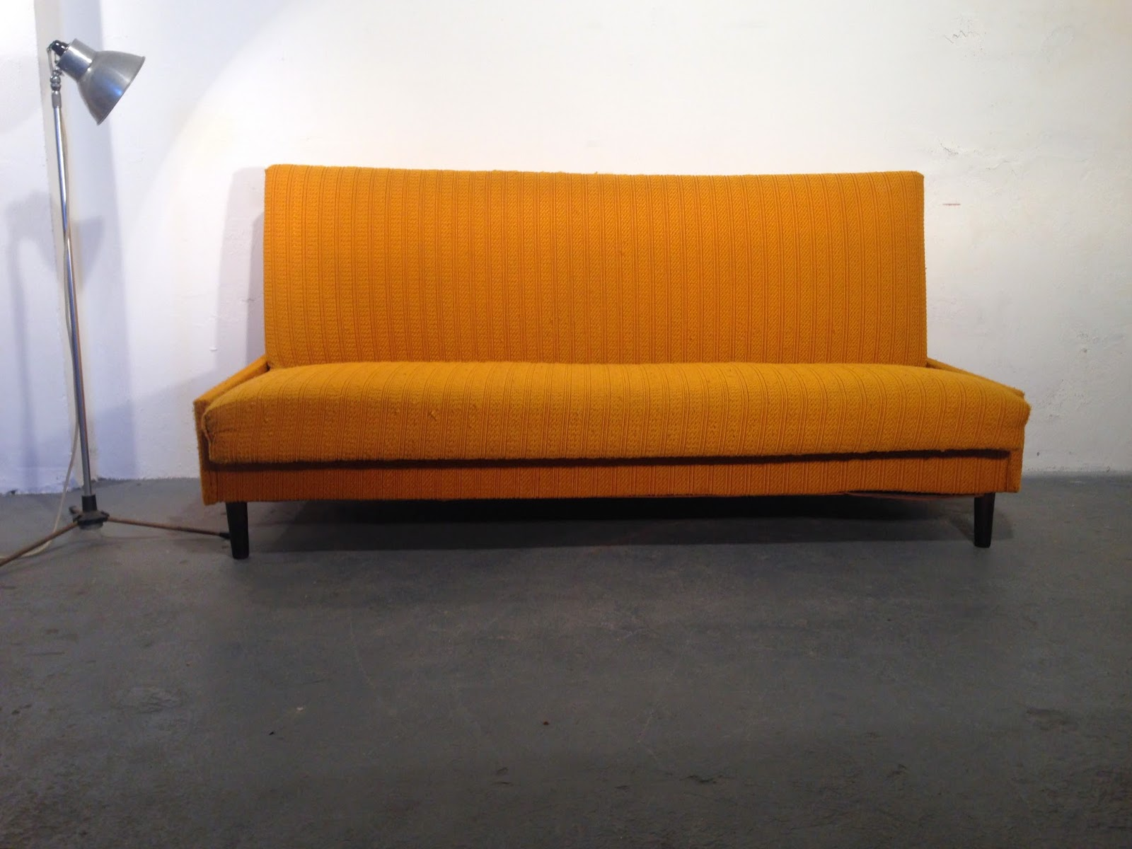 funky sofas ireland standard sofa dimensions in feet vintage furniture ocd 1960s bed