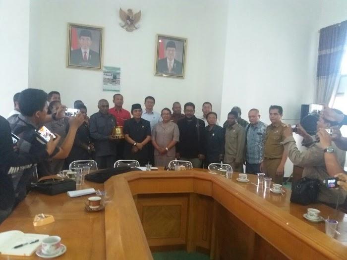 DPRD Manokwari Kungker Ke DPRD Lampung Tengah
