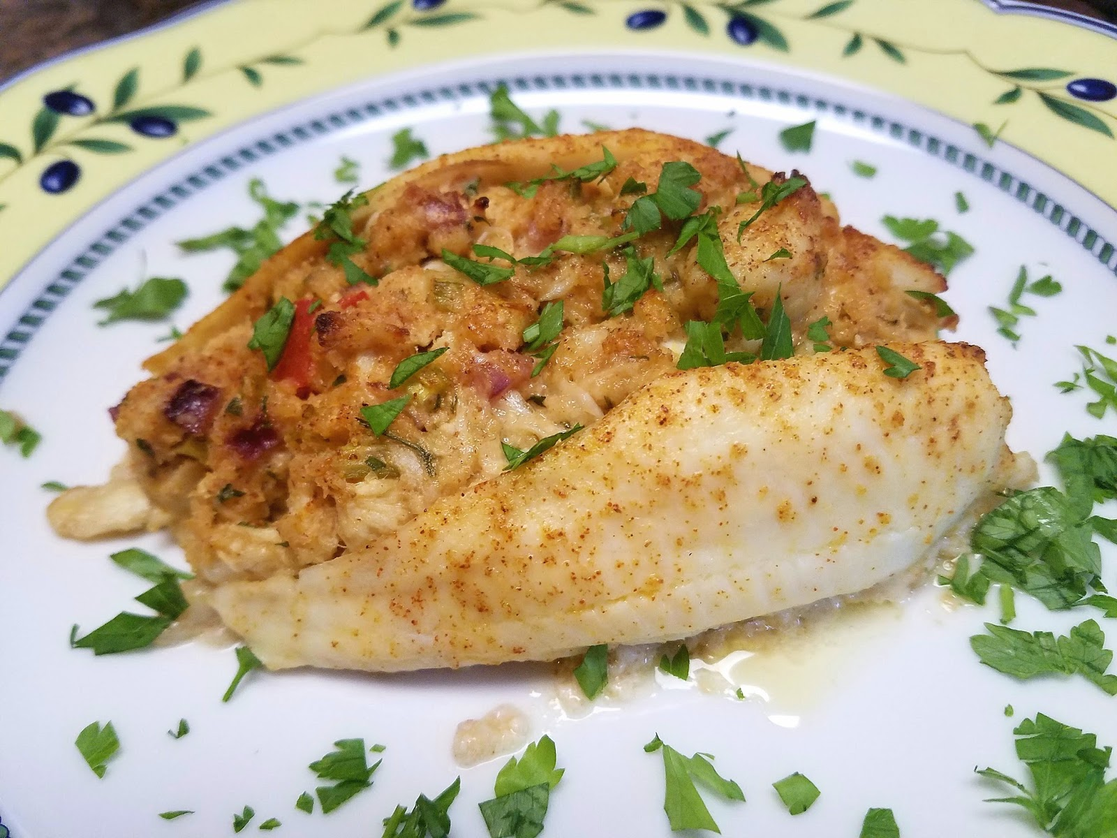 Cooking with Julian: Baked Crab-Stuffed Flounder