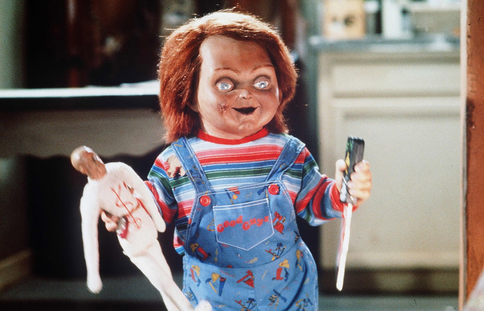the horror film childs play earned 96 million at the box office while ernest saves christmas brought in 7 million - Ernest Saves Christmas