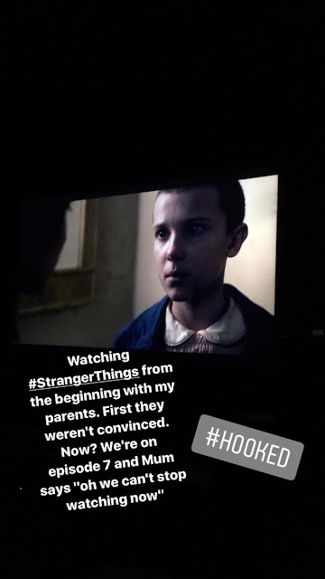 Watching Stranger Things with the Family