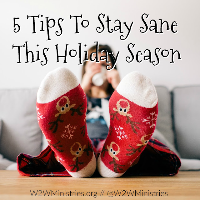 5 Tips To Stay Sane This Holiday Season #christmas #marriage #family #stress #peace