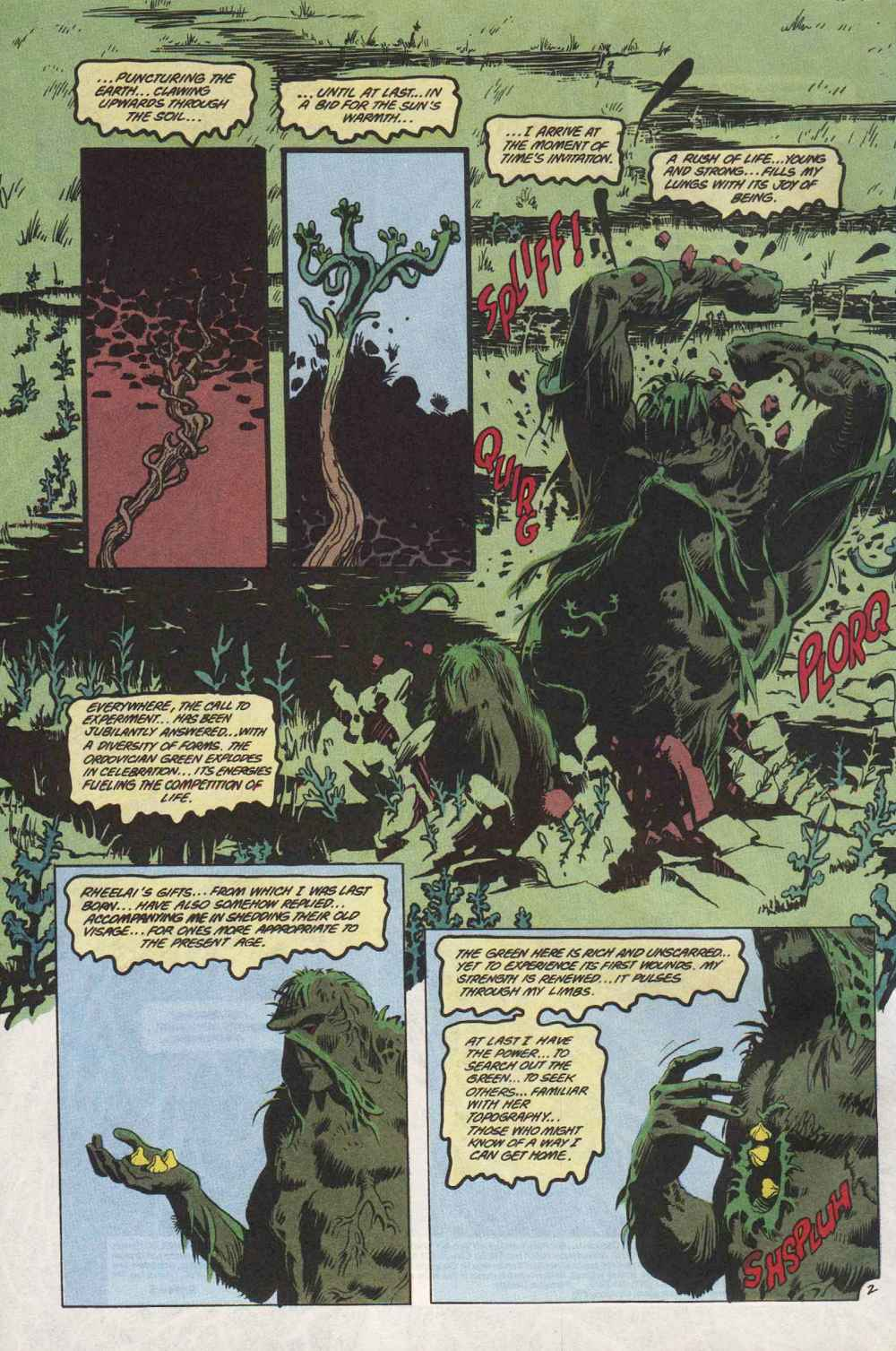 Swamp Thing (1982) Issue #89 #97 - English 3