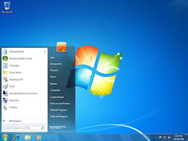 Desktop Windows 7 Ready