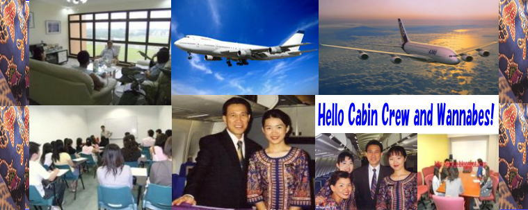 SIA,Emirates,Cathay Pacific etc cabin crew/flight attendant success at interview/recruitment