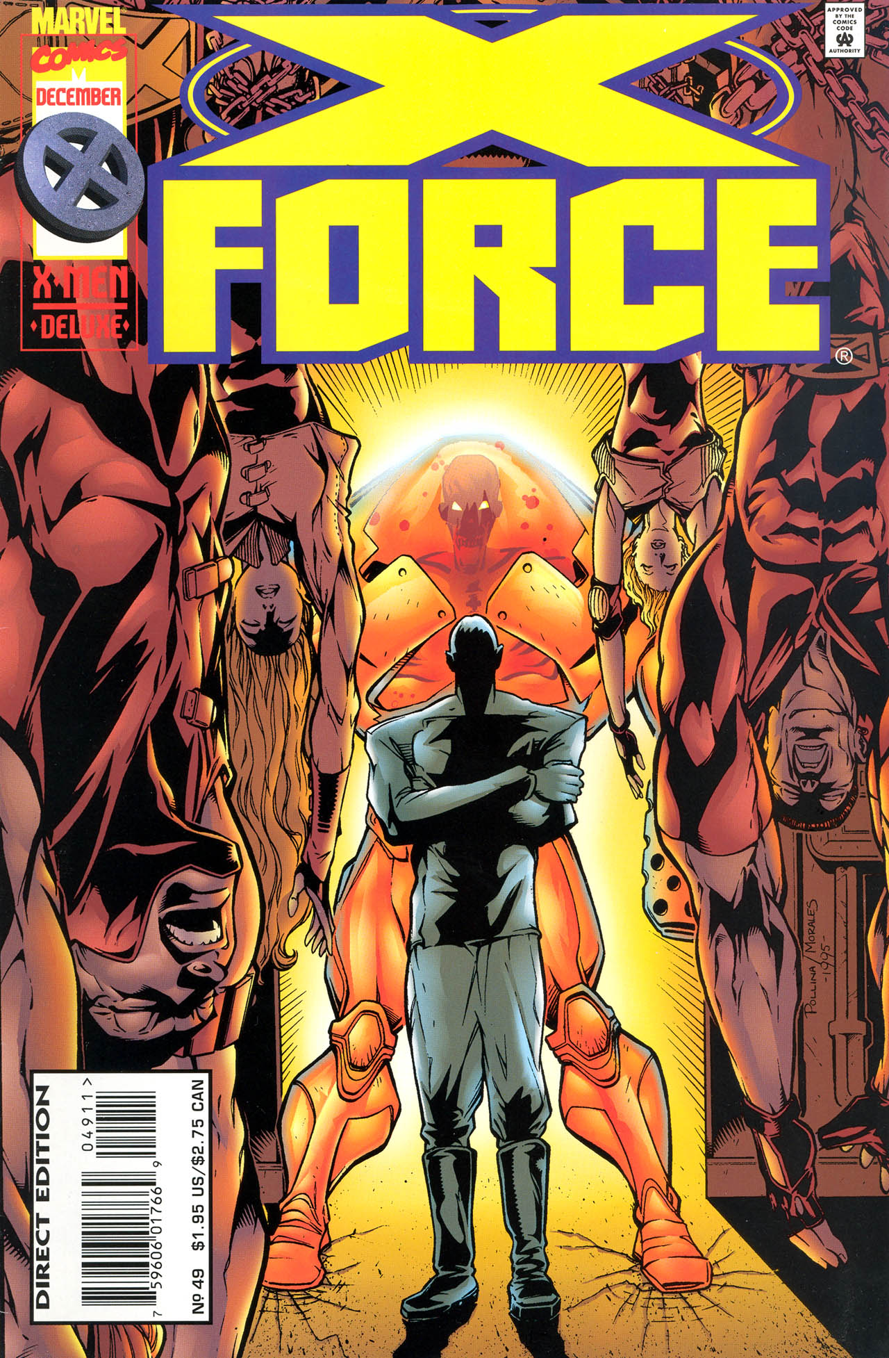 Read online X-Force (1991) comic -  Issue #49 - 1