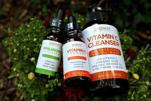 go pure naturals with Vitamin C Beauty