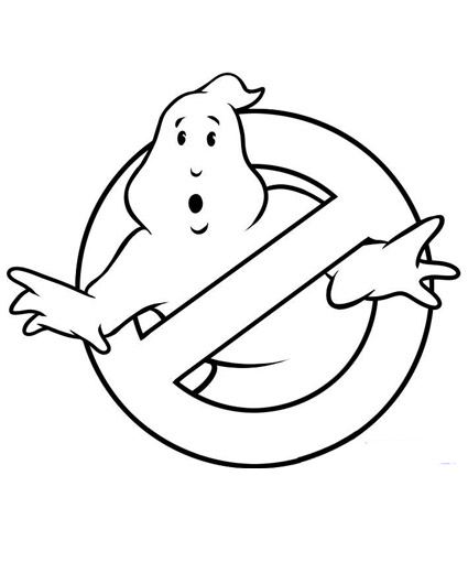Ghostbusters Coloring Pages Colouring For Kids