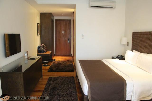 Interior of Deluxe Room City Garden Grand Hotel
