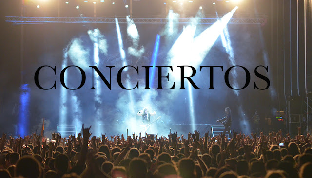 CONCIERTOS .LEYENDAS DEL ROCK Y RABOLAGARTIJA