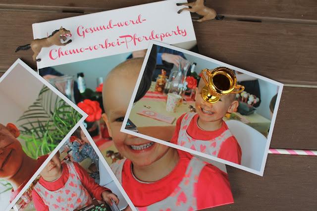 Fotobuch Pferdeparty Anti-Krebs Chemo vorbei Party Jules kleines Freudenhaus