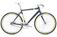 A Trek single gear bike