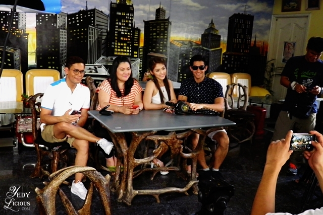 Pop Talk, Kuya Tonipet, Yedy Calaguas, Coleen Perez, and Wil Dasovich