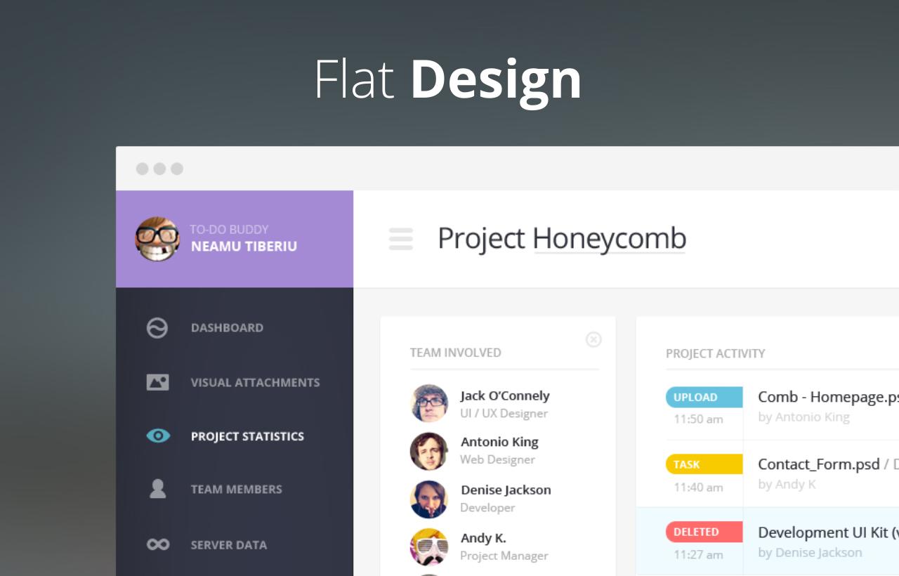 10 Inspirasi Flat Design #2