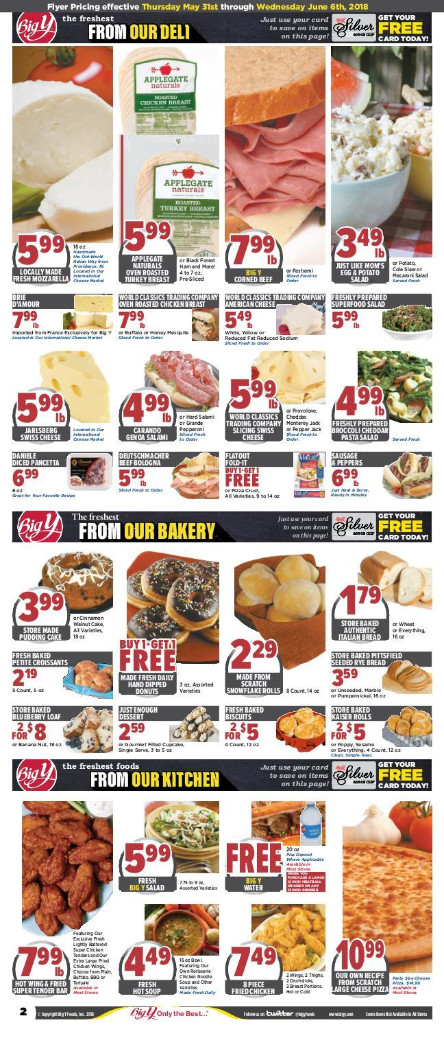 Big Y Flyer May 31 June 6 2018 View Weekly Ad