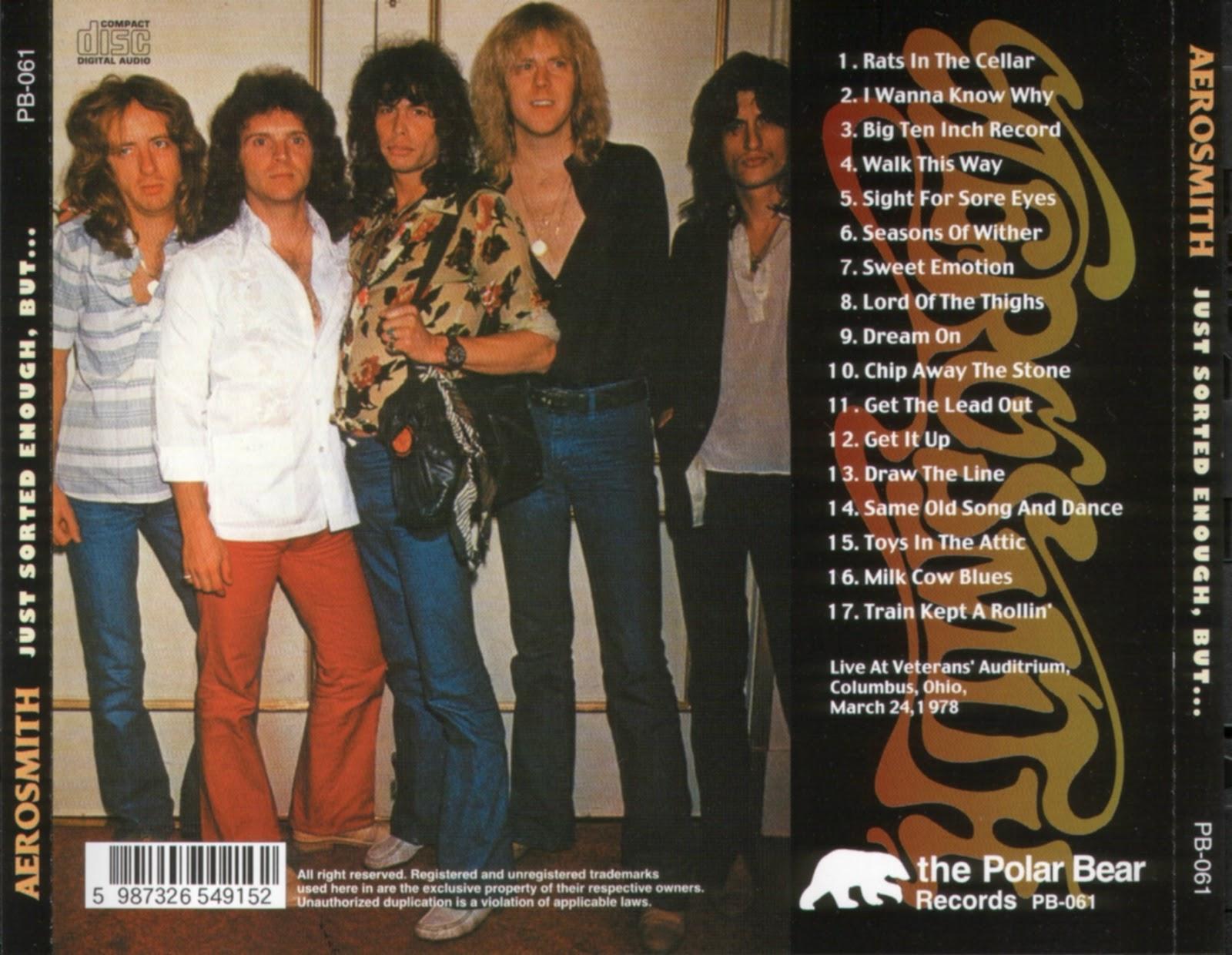 T U B E Aerosmith 1978 03 24 Columbus Oh Fm Flac