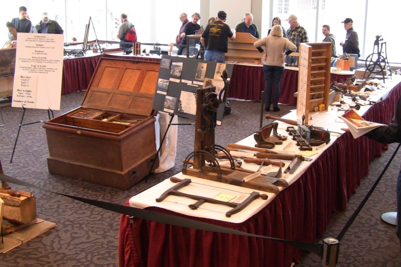 weekend i participated in the northeastern woodworking association