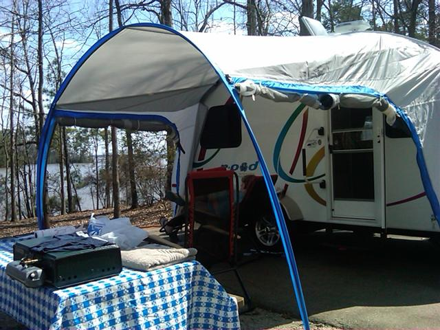 R Dome To Awning