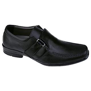 Sepatu Kerja Pria Murah Tanpa Tali UK 1611