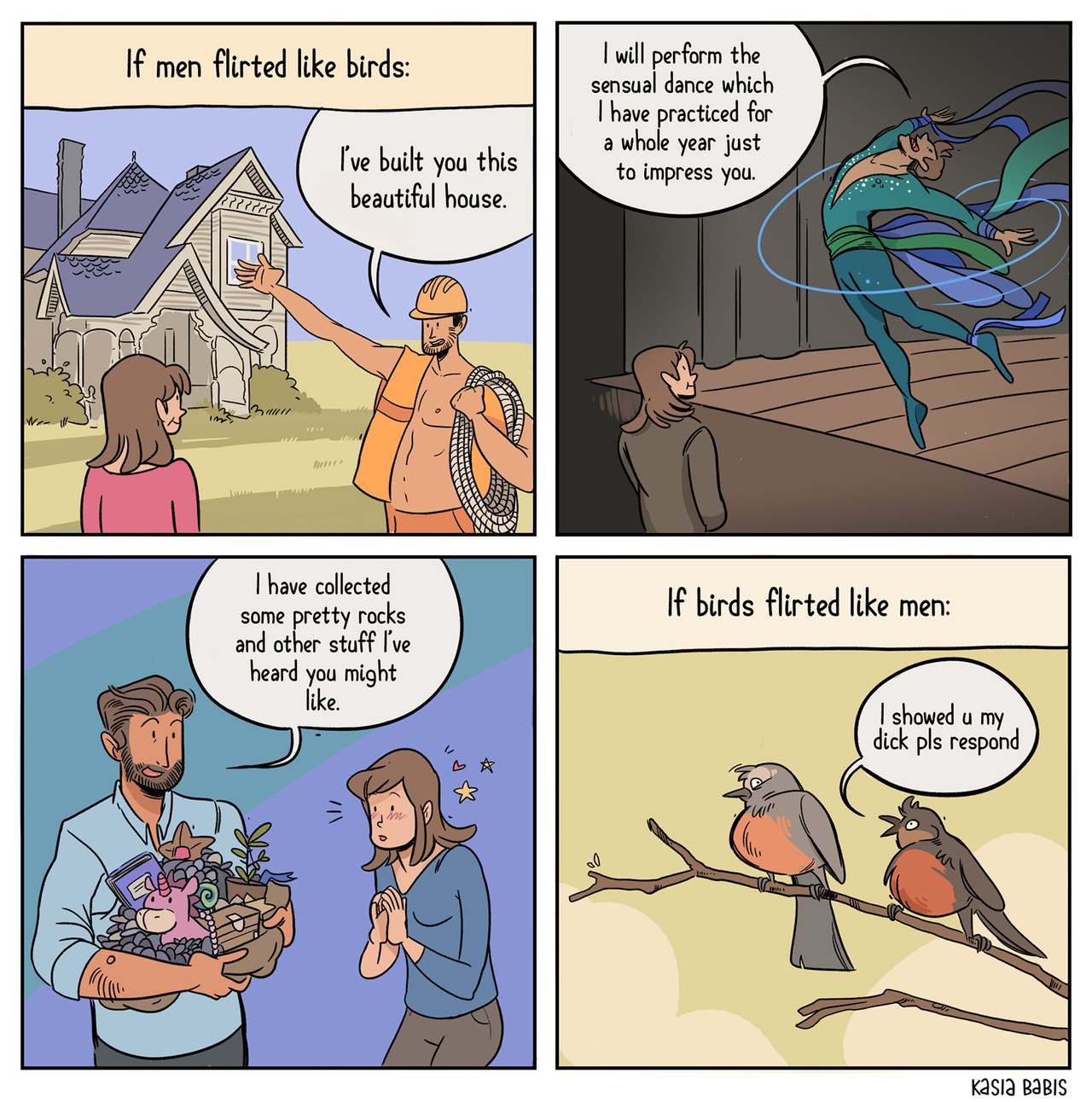 Εξαπάτηση μεγάλο πουλί