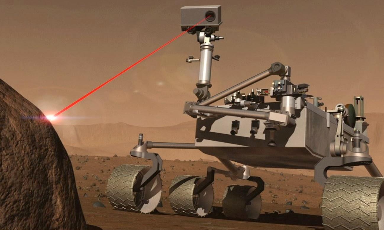 Orbiter.ch Space News: Laser Instrument on NASA Mars Rover ...