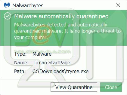 Trojan.StartPage