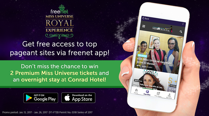 Smart Users Watch The Ms. Universe Coronation Night For Free Via Freenet App!