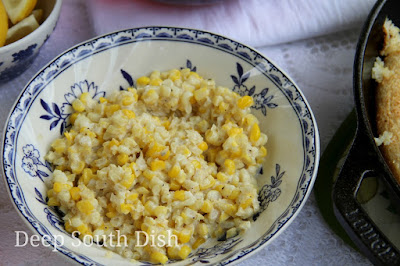 Southern Creamed Corn and Cookbook Giveaway!
