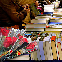 Día del libro y la rosa, Barcelona, Cataluña