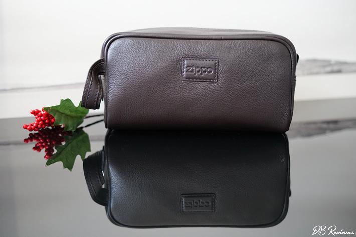 Zippo Leather Toiletry Bag