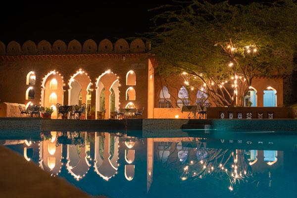 review fort kesroli neemrana rajasthan luxury hotel india