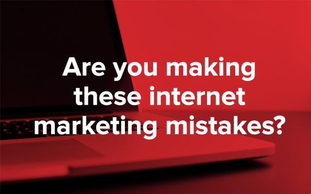 The 10 Most Common Online Marketing Mistakes