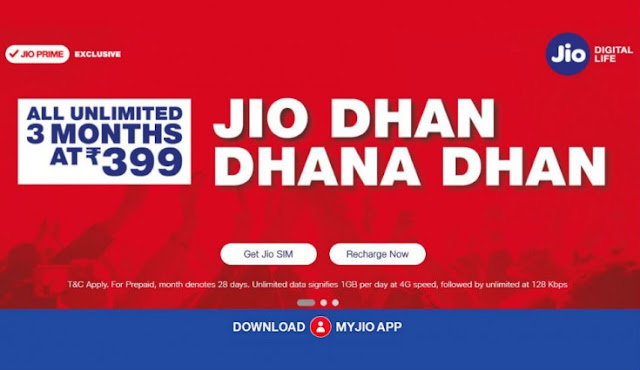 Jio 399 Plan – Best Recharge & Cashback Offers For Jio 399 Plan