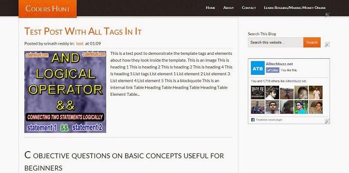 Eleven40 Blogger Template, ATB Blogger Template, Download Eleven40 Template
