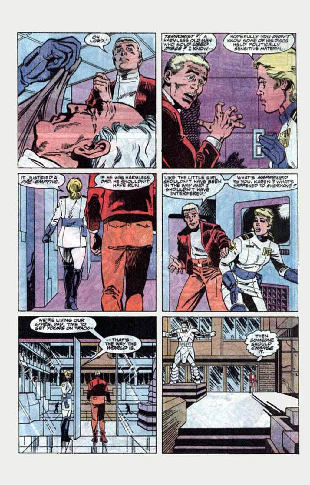 Read online Armageddon 2001 comic -  Issue #1 - 32
