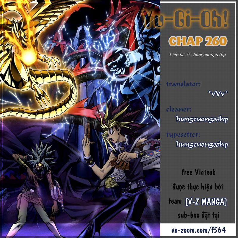 YUGI-OH! chap 260 - red-eyes black gragon trang 1